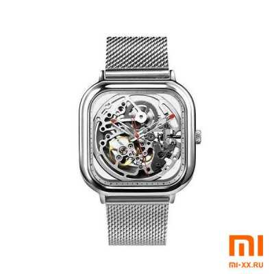 Часы Xiaomi CIGA Design Anti-Seismic Mechanical Watch Wristwatch (Silver)