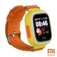 Детские смарт часы Smart Baby Watch Q90 (Orange)