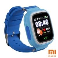 Детские смарт часы Smart Baby Watch Q90 (Blue)