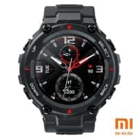 Умные часы Amazfit T-Rex Smart Watch Standart Rock Black