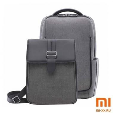 Рюкзак 2 в 1 Xiaomi Fashion Commuter Backpack (Gray)