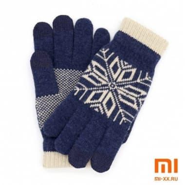 Перчатки для сенсорных экранов (Dark Blue)