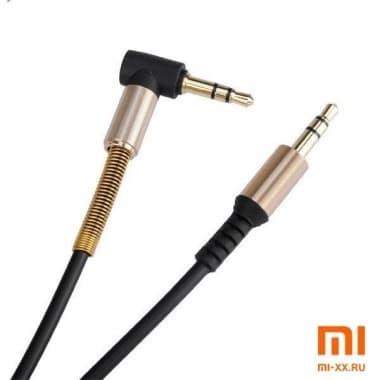 Аудио кабель Aux Hoco UPA02 1M (Black)