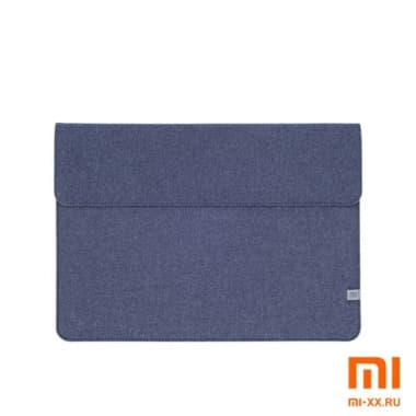 Чехол Xiaomi Laptop Sleeve Leather Case 13.3 Polyester (Blue)