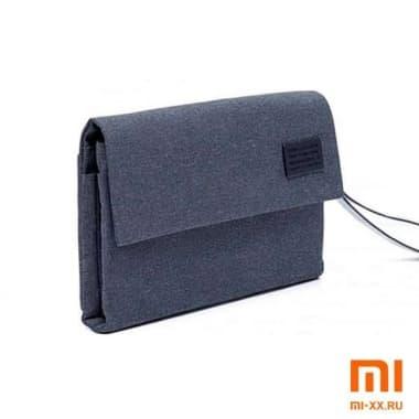 Сумка-органайзер Xiaomi Water Resistant Electronics Accessories Organizer (Dark Blue)