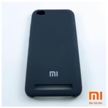 Чехол Бампер Silicone Case Xiaomi Redmi 5a (Синий)
