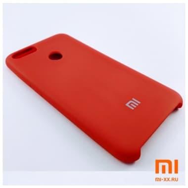 Чехол Бампер Silicone Case Xiaomi mi 5x/mi a1 (Красный)