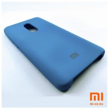 Чехол Бампер Silicone Case Xiaomi Redmi Note 4/4x (Синий)