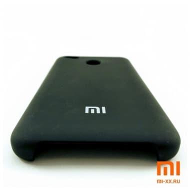 Чехол Бампер Silicone Case Xiaomi Redmi 4x (Черный)