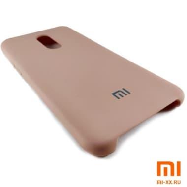 Чехол Бампер Silicone Case Xiaomi Redmi 5 Plus (Розовый)