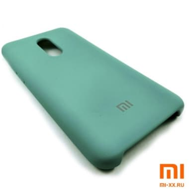 Чехол Бампер Silicone Case Xiaomi Redmi 5 Plus (Мятный)