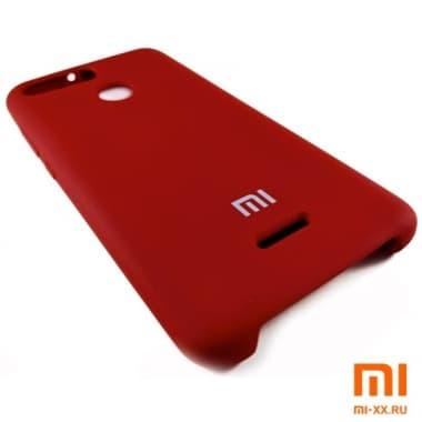 Чехол Бампер Silicone Case Xiaomi Redmi 6 (Красный)