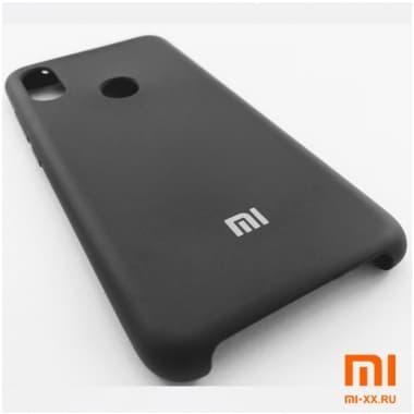 Чехол Бампер Silicone Case Xiaomi Redmi Note 6 pro (Черный)