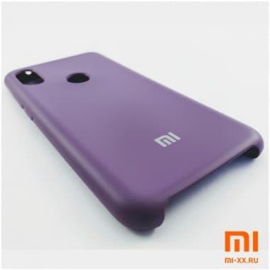 Чехол Бампер Silicone Case Xiaomi Redmi Note 6 pro (Фиолетовый)