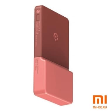 Беспроводное зарядное устройство Xiaomi Rui Ling Power Sticker (Red)
