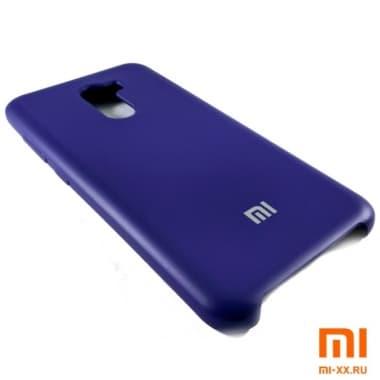 Чехол Бампер Silicone Case Xiaomi Pocophone f1 (Фиолетовый)