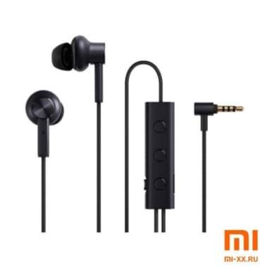 Стерео-наушники Xiaomi Mi Noise Cancelling Earphones 3.5 Jack (Black)