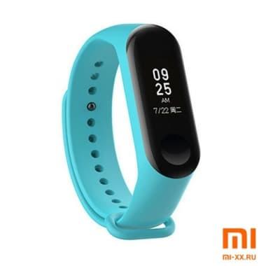 Силиконовый ремешок для Xiaomi Mi Band 3/Mi Band 4 (Turquoise)