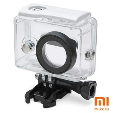 Аквабокс для Xiaomi Yi Action Camera (White)