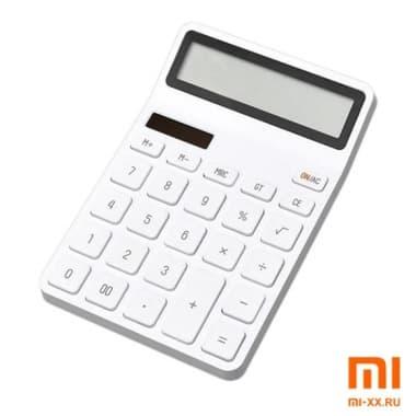 Калькулятор Xiaomi Kaco Lemo Desk Electronic Calculator (White)