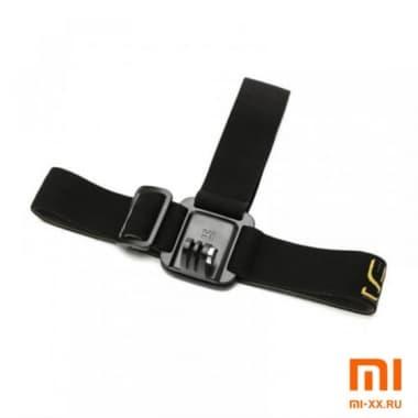 Крепление на голову для экшн-камер Xiaomi Yi (Black)
