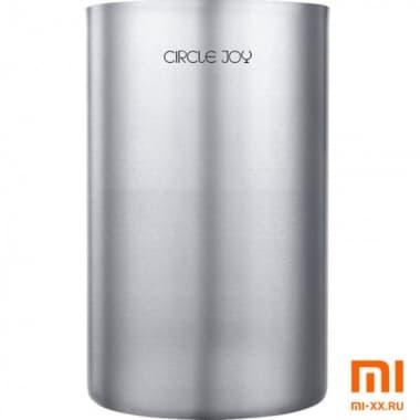Ведерко для охлаждения Circle Joy Ice Bucket (Silver)