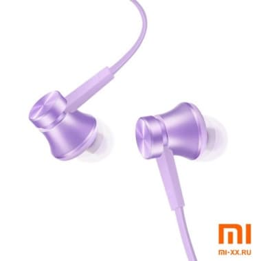 Наушники Mi Piston Basic Edition Fresh Bloom (Purple)