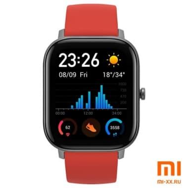 Умные часы Amazfit GTS Smart Watch (Vermillion Orange)