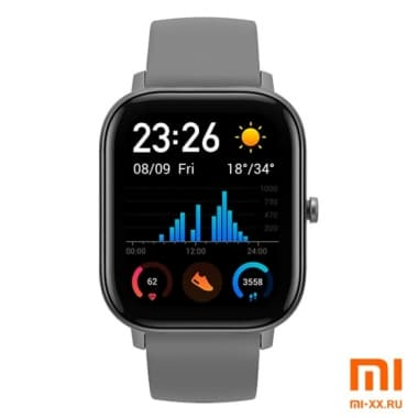 Умные часы Amazfit GTS Smart Watch (Grey)