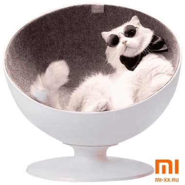 Лежак для кошек Xiaomi Furrytail Boss Cat Bed (White)