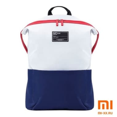 Рюкзак Xiaomi 90 Points Lecturer Casual Backpack (White/Blue)