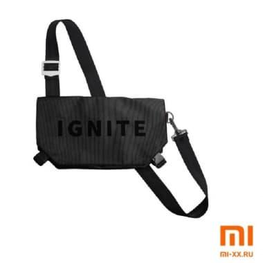 Сумка на одно плечо IGNITE (Black)