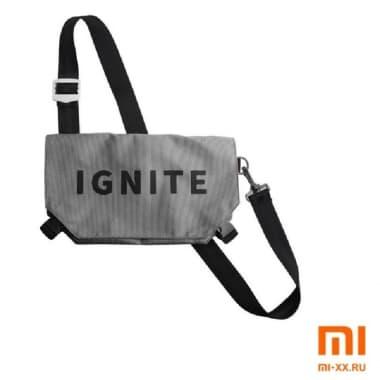 Сумка на одно плечо IGNITE (Grey)