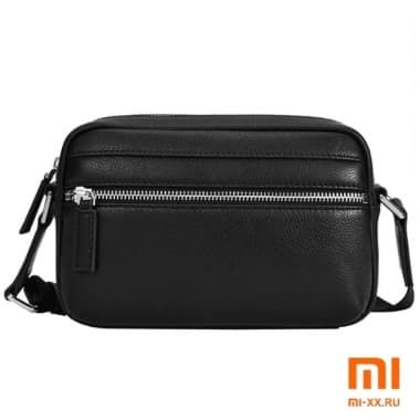 Сумка Xiaomi VLLICON Light Leather Messenger Bag (Black)