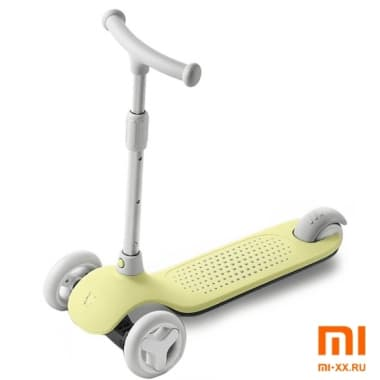 Детский самокат-кикборд Xiaomi MITU Rice Rabbit Scooter (Yellow)