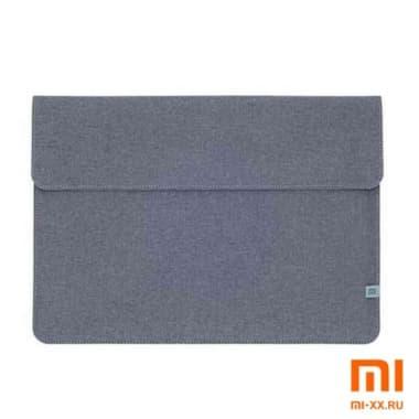 Чехол Xiaomi Laptop Sleeve Leather Case 13.3 Polyester (Grey)