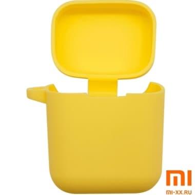 Силиконовый чехол для наушников Xiaomi Air Mi True Wireless Earphones (Yellow)
