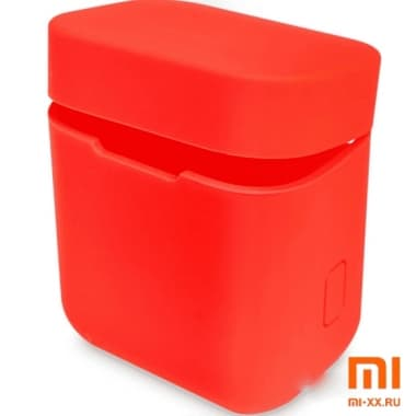 Силиконовый чехол для наушников Xiaomi Air Mi True Wireless Earphones (Red)