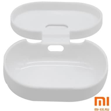Силиконовый чехол для наушников Xiaomi Redmi AirDots True Wireless (White)
