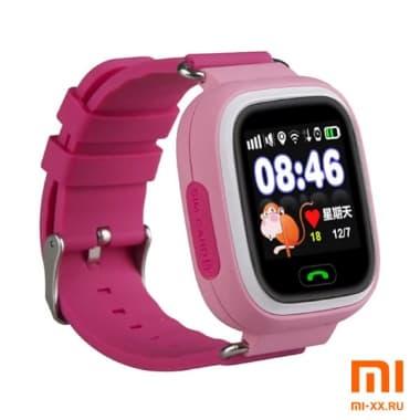 Детские смарт часы Smart Baby Watch Q90 (Pink)