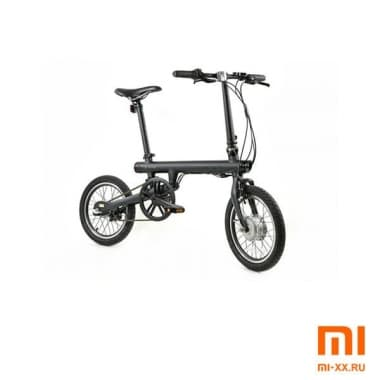 Складной электровелосипед Xiaomi Mi QiCycle Folding Electric Bike (Black)