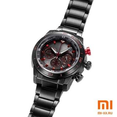 Наручные часы Xiaomi Twenty Seventeen Lite Kinetic Energy Meter (Black/Red)