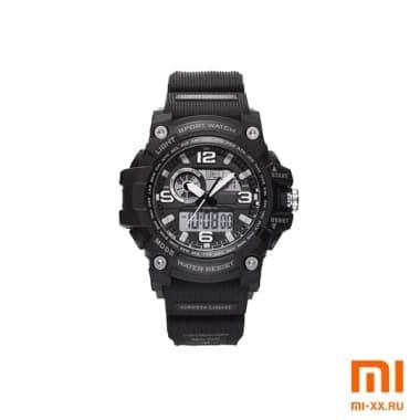 Часы Twenty Seventeen Lightweight Dual Display Watch (Black)