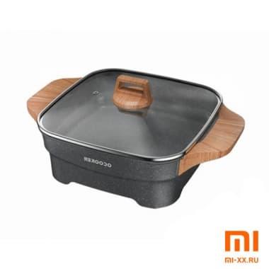 Электросковорода Xiaomi Qcooker Electric Hot Pot (Black)