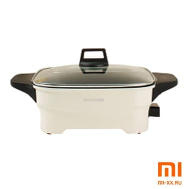 Электросковорода Xiaomi Qcooker Electric Hot Pot (Beige)