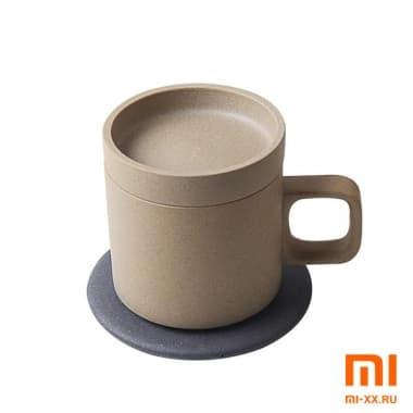 Чашка с подогревом Xiaomi VH Wireless Charging Electric Cup (White)