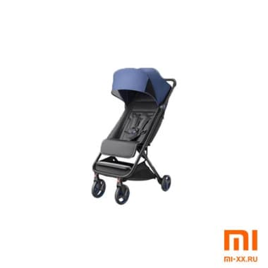 Детская коляска Xiaomi MITU Rice Rabbit Folding Stroller (Blue)