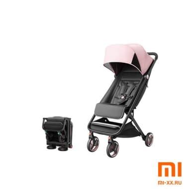 Детская коляска Xiaomi MITU Rice Rabbit Folding Stroller (Pink)