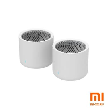 Портативные колонки Xiaomi Mijia Portable Bluetooth Speaker Wireless Stereo Set (White)