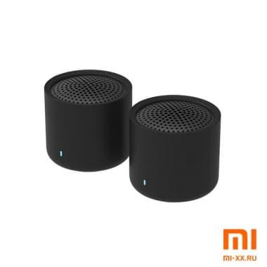 Портативные колонки Xiaomi Mijia Portable Bluetooth Speaker Wireless Stereo Set (Black)